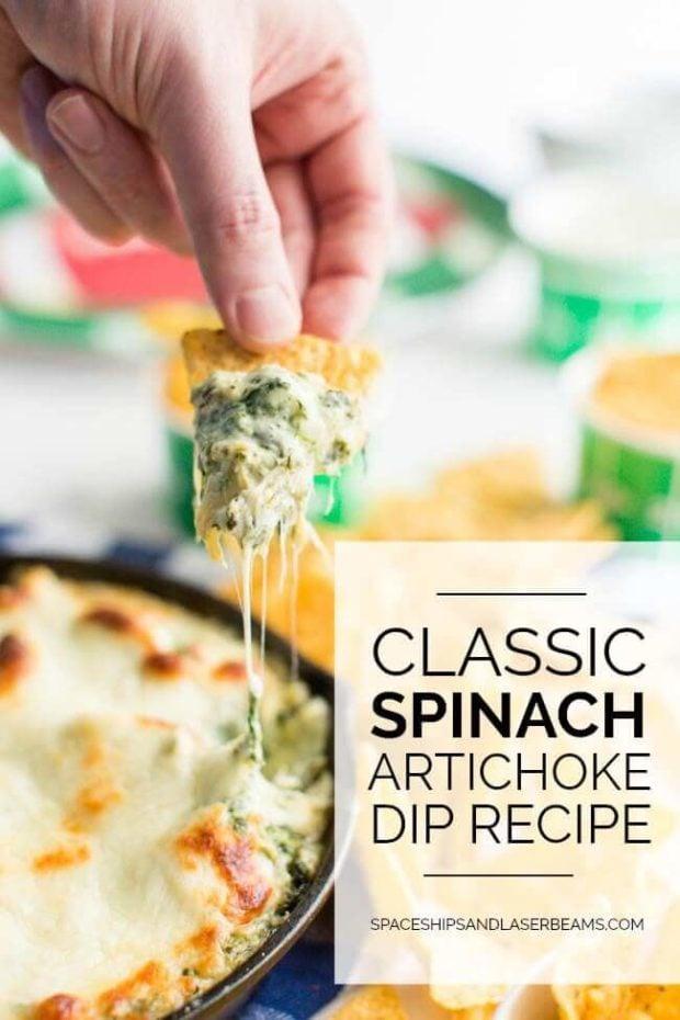 Classic Spinach Artichoke Dip Recipe
