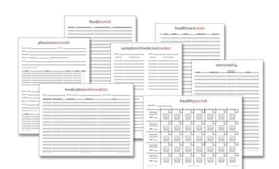 23 free printables to organize your family s health spaceships and