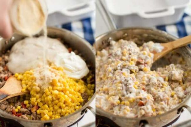How to Make Cowboy Casserole