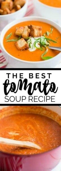The Best Tomato Soup Recipe