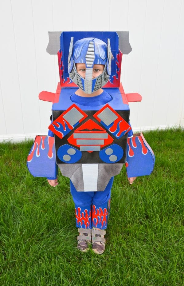 DIY Optimus Prime