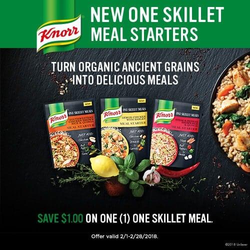 Knorr One Skillet Meal