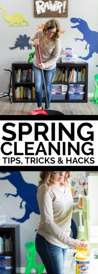 Spring Cleaning Tips, Tricks and Hacks