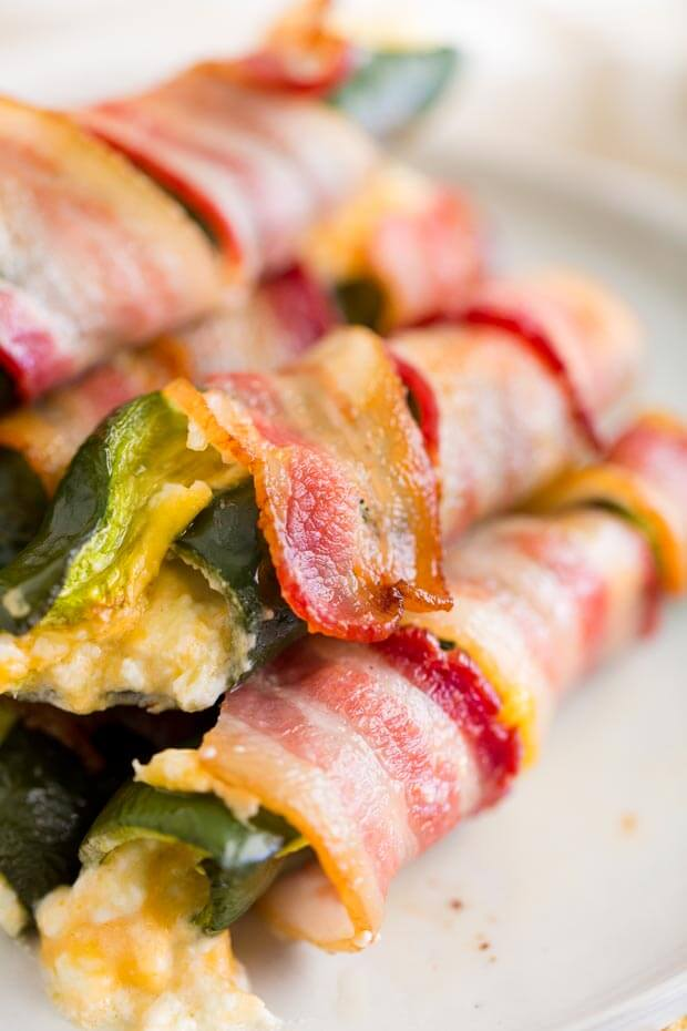 Easy Bacon Wrapped Peppers