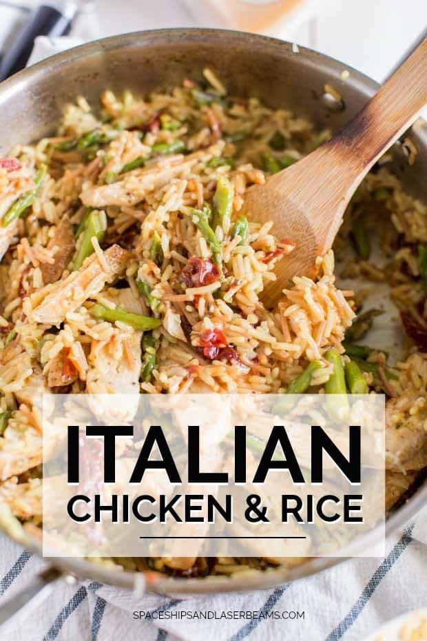 Italian Chicken and Rice