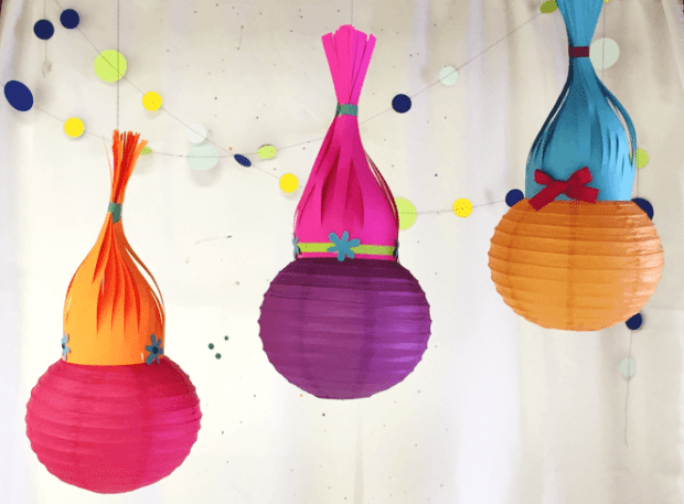 Tutorial Trolls Paper Lanterns