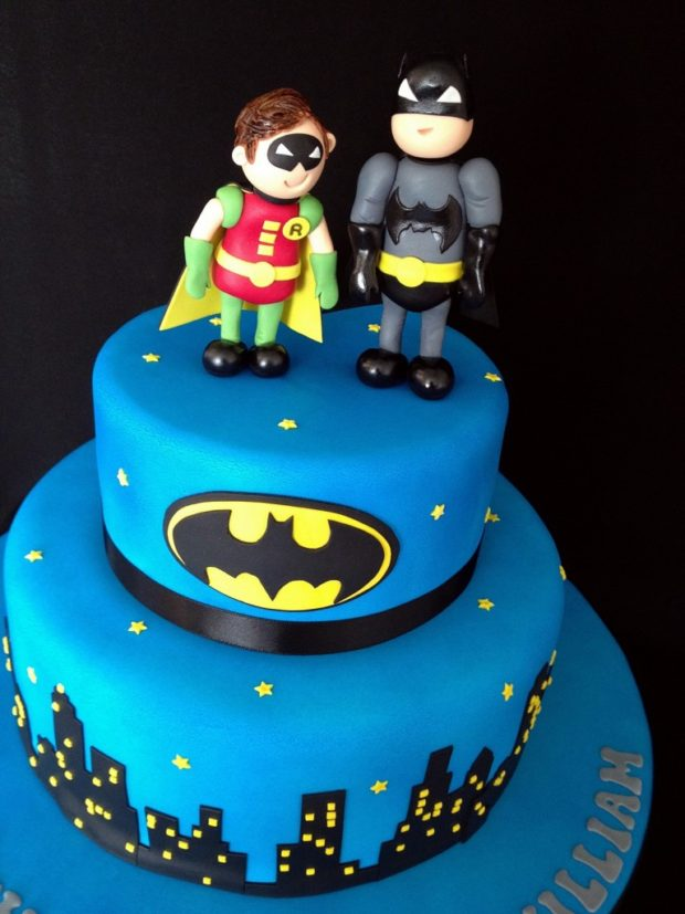Batmand and Robin Cake