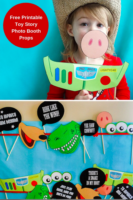 21 toy story birthday party ideas of toy story photo booth props