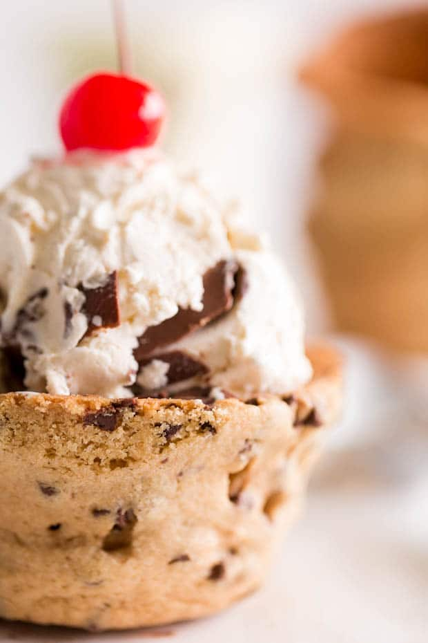 Cookie Cup for Ice Cream