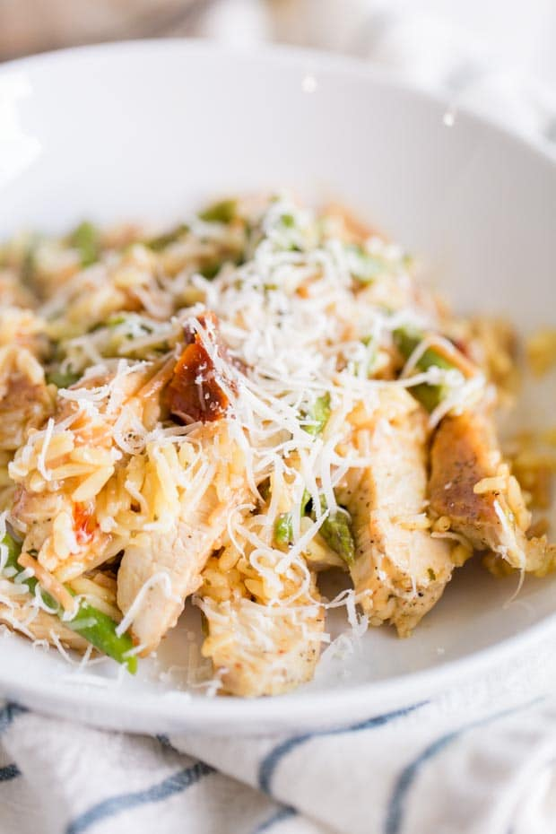 Easy Italian Chicken and Rice