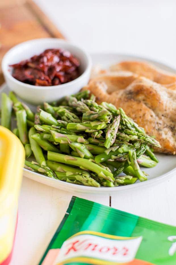 Ingredients for Italian Chicken