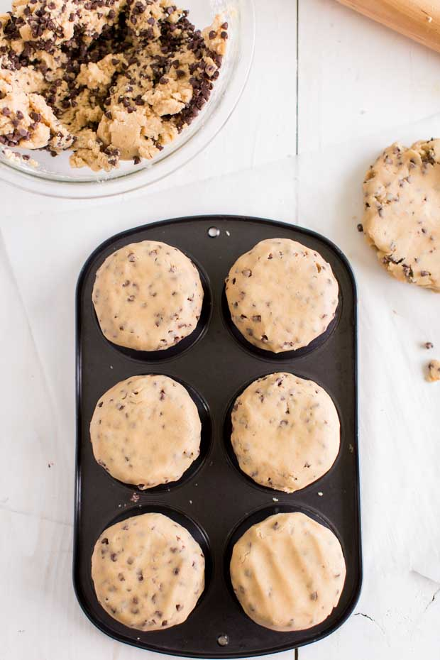 Muffin Tin Cookie Cup
