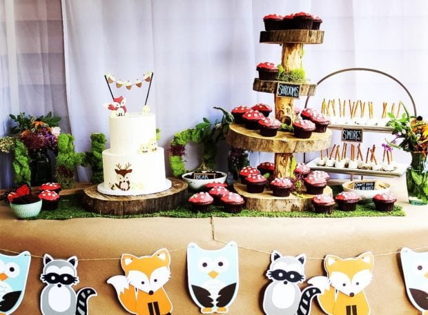 26 Woodland Themed Birthday Party Ideas - Spaceships and ...