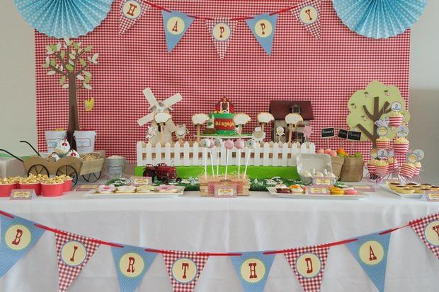 41 Farm Themed Birthday Party Ideas Spaceships And Laser Beams