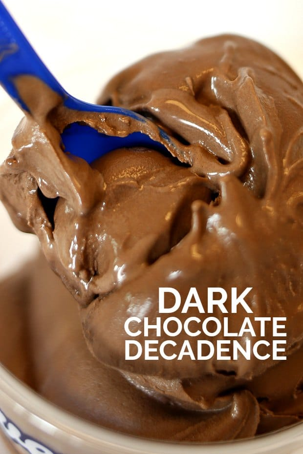 Dark Chocolate Decadence Frozen Custard