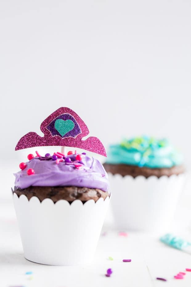 Nella the Princess Knight Cupcakes