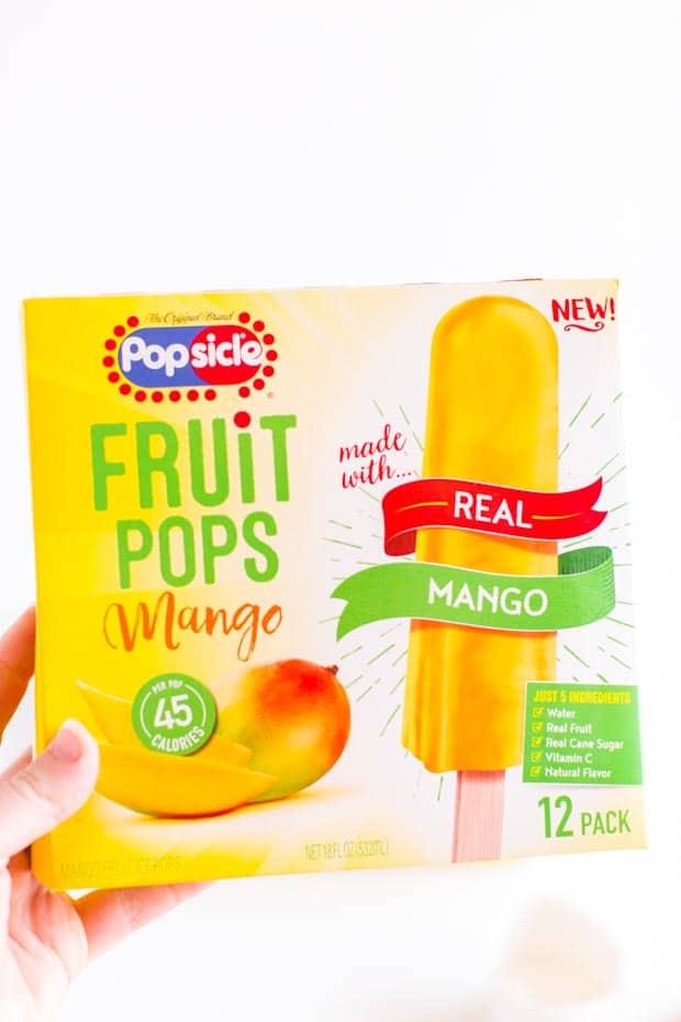Popsicle Mango