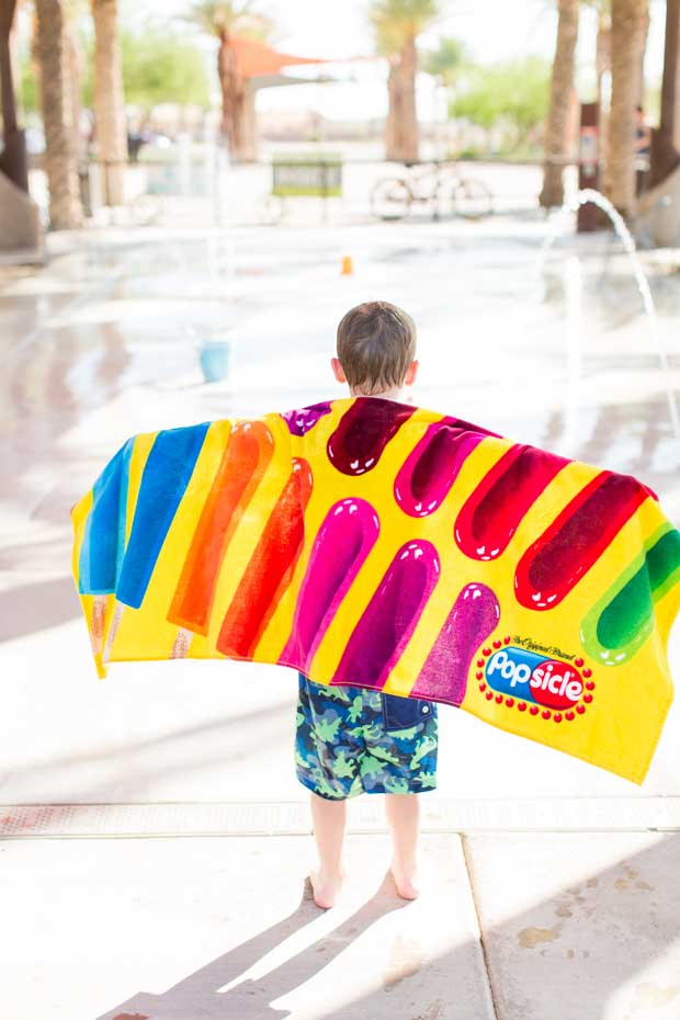 Popsicle Towel