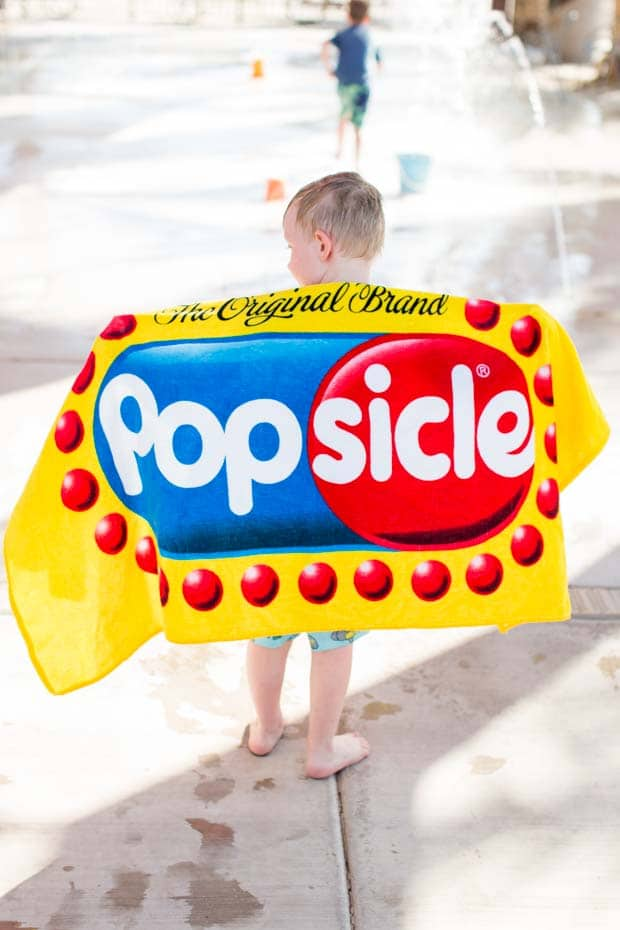 Summer Popsicle Towel