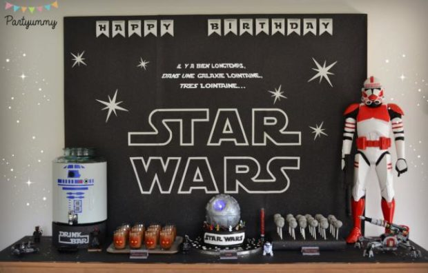 A Boy's Lego Star Wars 6th Birthday Party - Spaceships and Laser Beams