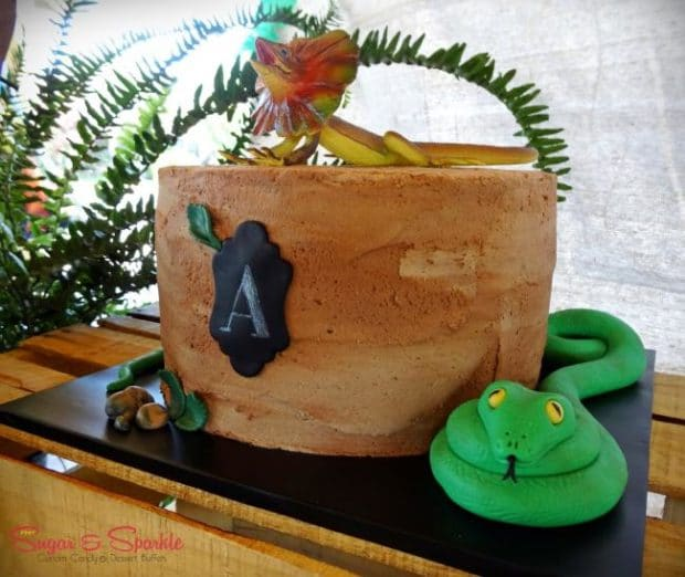 A Creepy Crawly Boy S Reptile Birthday Party Spaceships