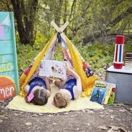 Tent and Reading