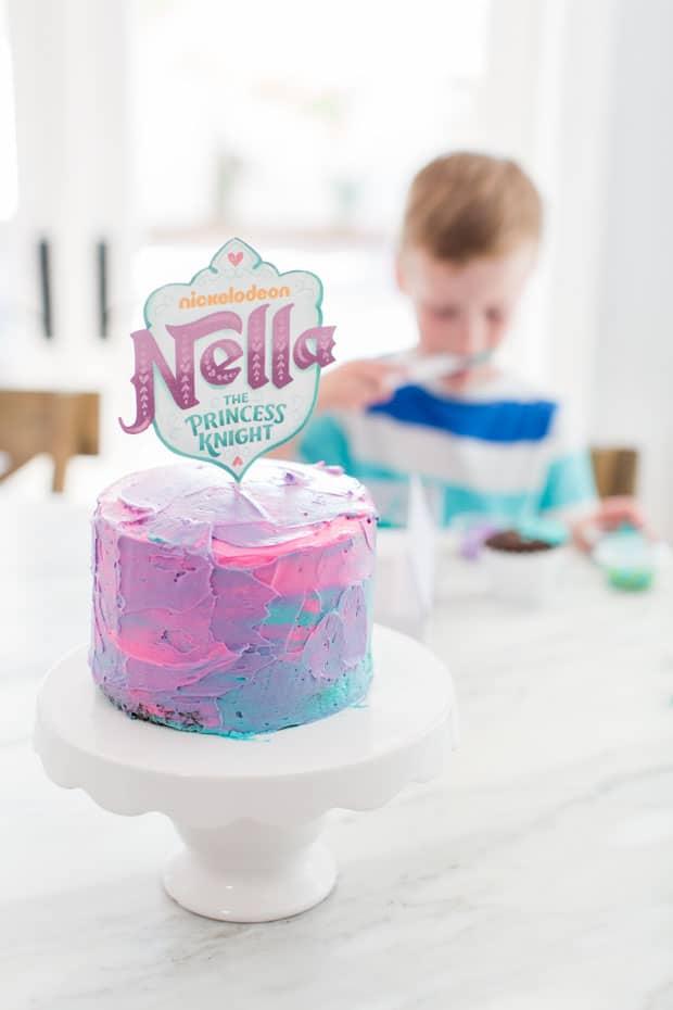 Nella the Princess Knight Cake