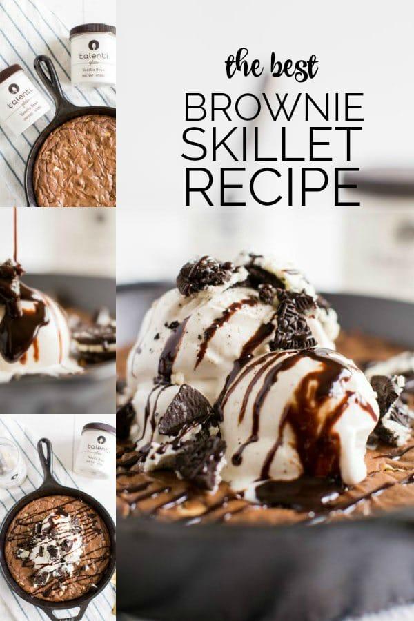 The Best Skillet Brownies Recipe