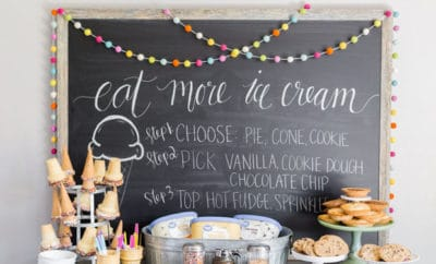 Choose Your Own Dessert Bar