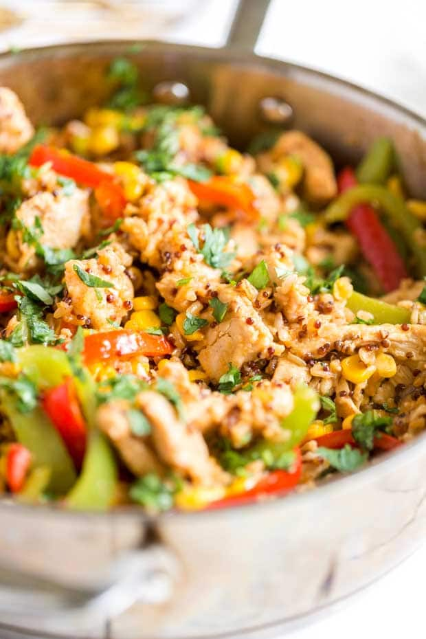 Best Southwestern Chicken and Rice