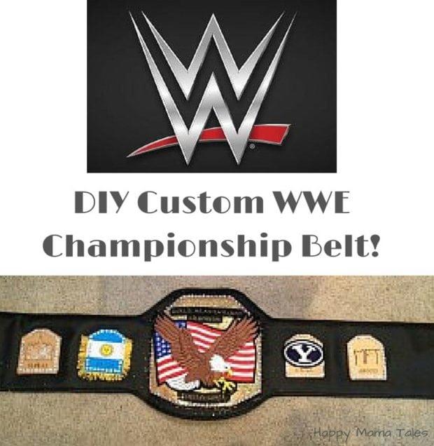 DIY Custom WWE Championship Belt