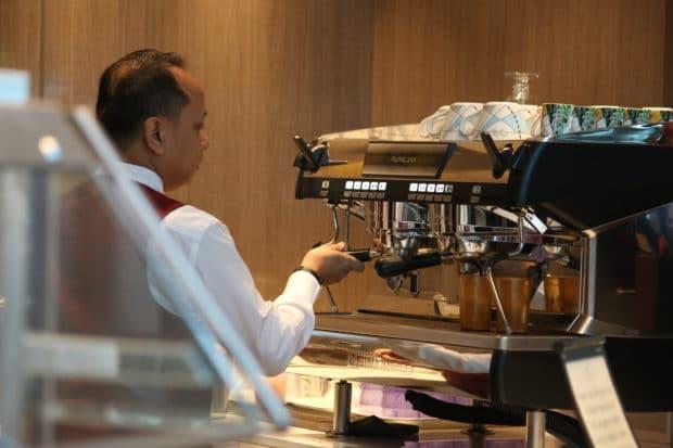 Coffee Bar on Island Princess