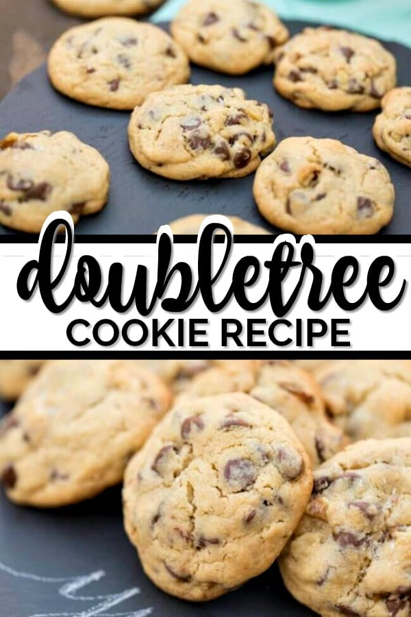 A copycat recipe for Doubletree Cookies, the famous chocolate chip cookies from the Hilton Doubletree Hotels