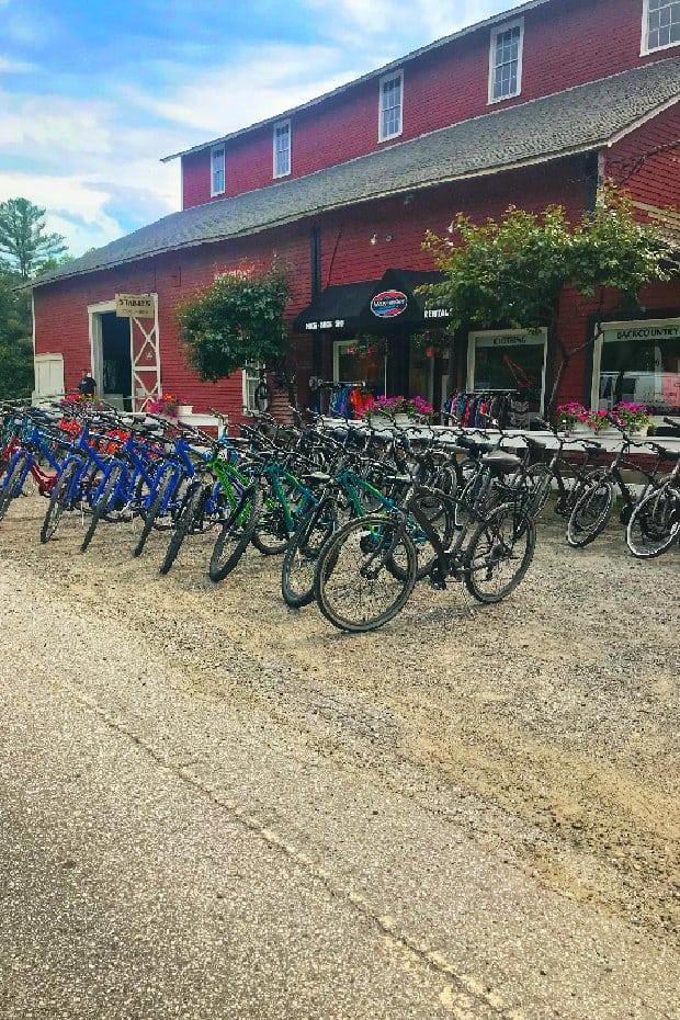 Bikes in Stowe Vermont