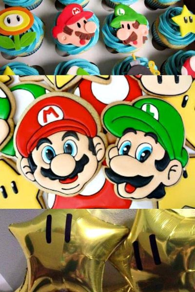 mario party ideas photo collage