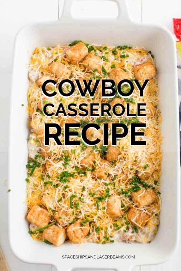 A box filled with different types of food, with Casserole and Chicken