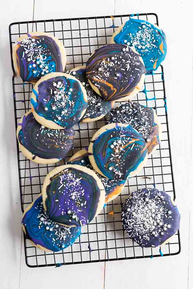 Galaxy Sugar Cookies