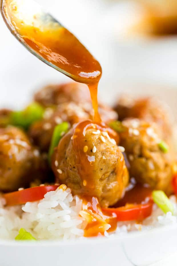 Sweet and Sour Sauce for Meatballs