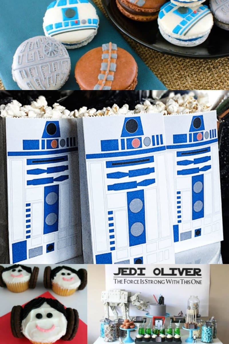 23 Star Wars Birthday Party Ideas You Will Love - Spaceships