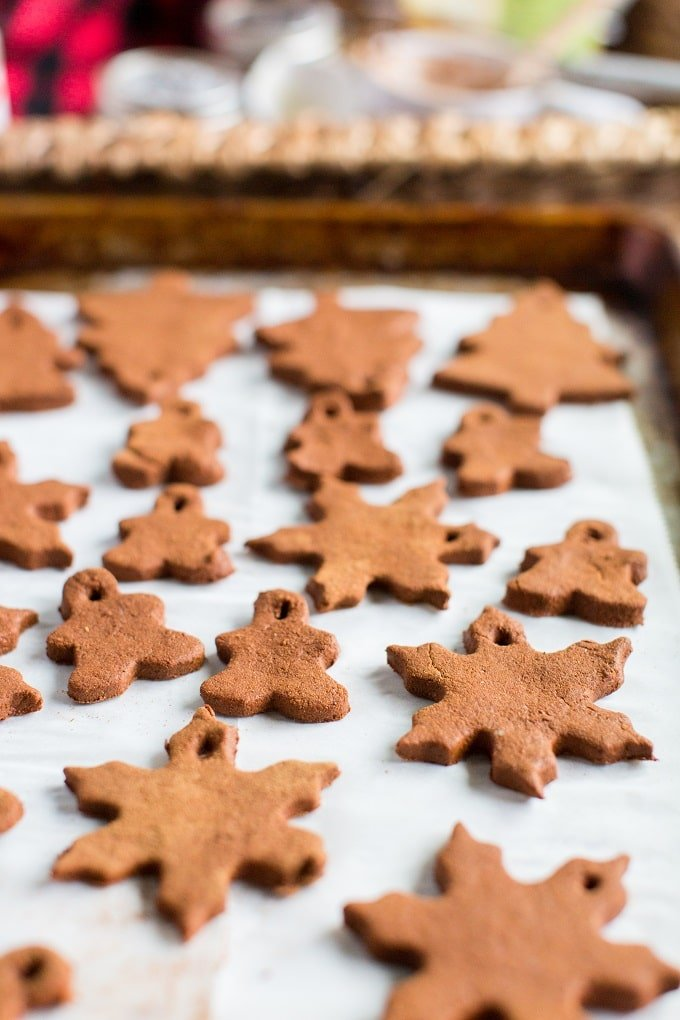 Baking Old Fashioned Christmas Ornaments