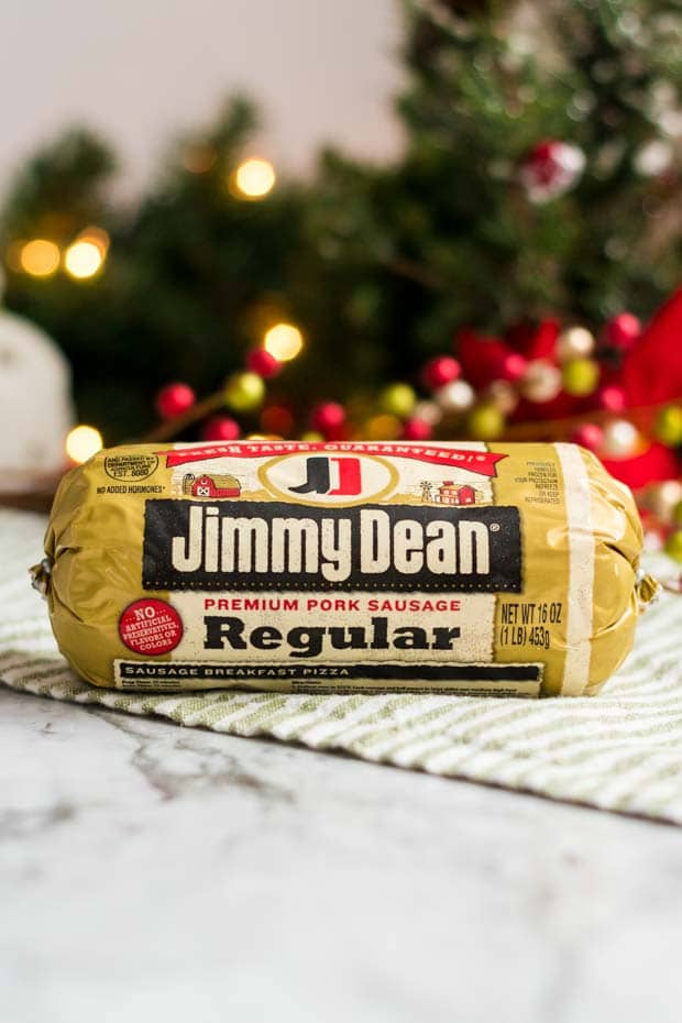 Package of Jimmy Dean Sausage