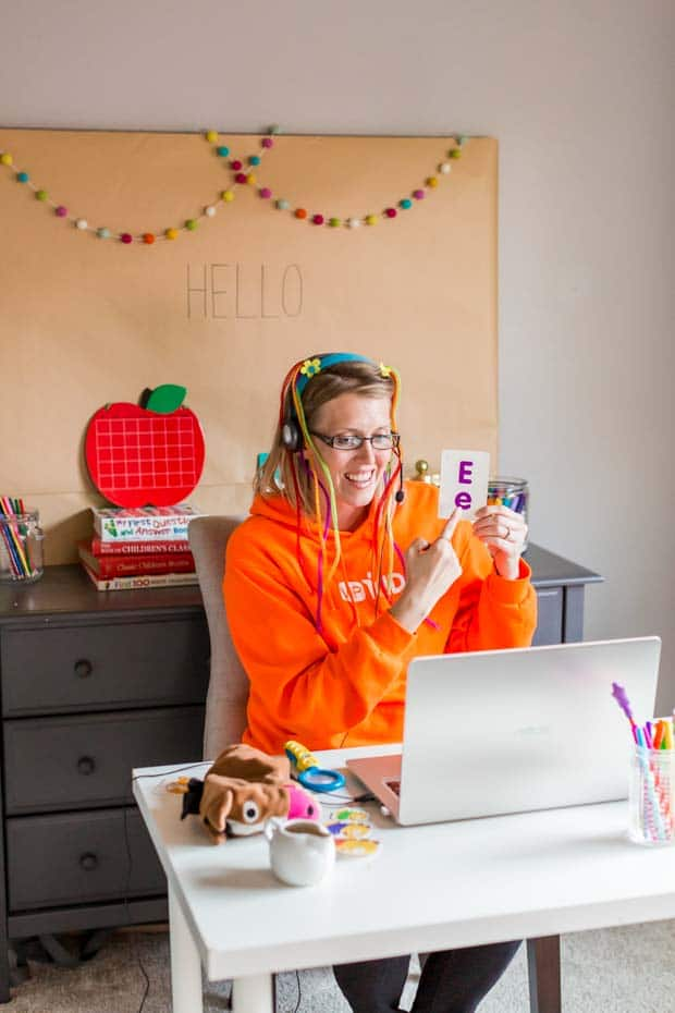 Teaching at Home with VIPKid