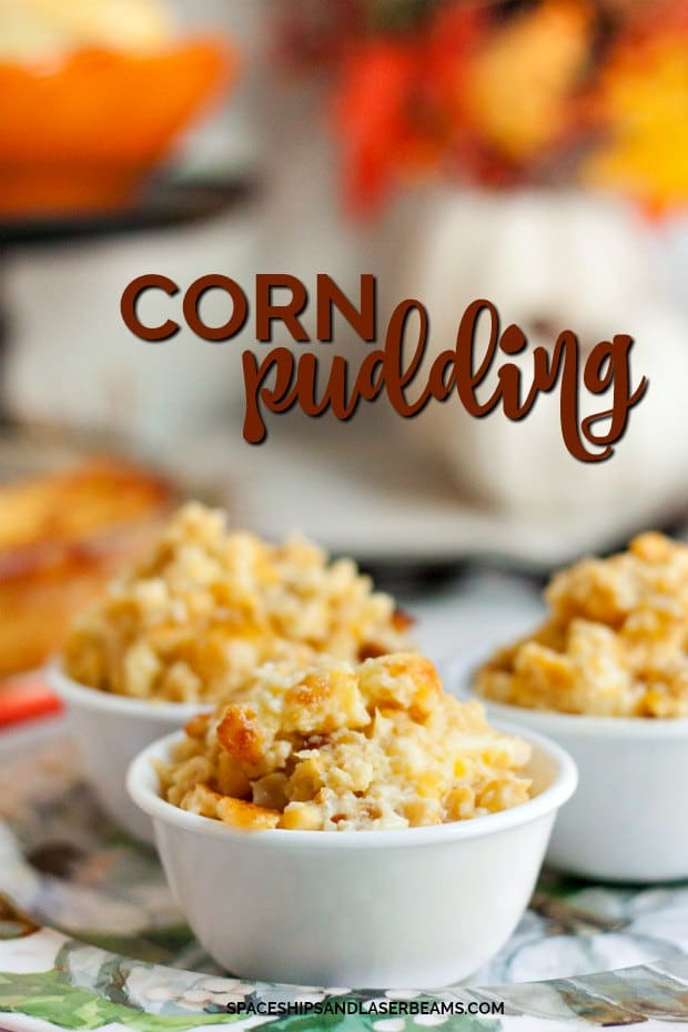 Corn Pudding in Single Serving Containers