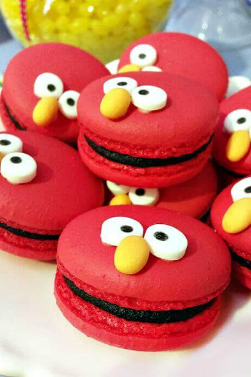 Admirable 21 Fabulous Elmo Birthday Party Ideas Spaceships And Laser Beams Funny Birthday Cards Online Sheoxdamsfinfo