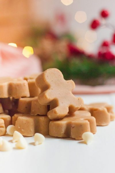 Gingerbread Fudge Featured