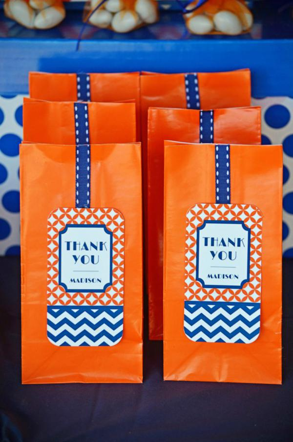 Graduation Party Favor Bag by Kara's Party Ideas | 19 Graduation Party Favor Ideas