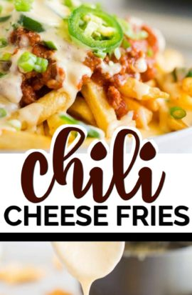 CHILI CHEESE FRIES RECIPE