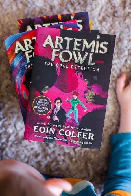 Artemis Fowl Books for Kids