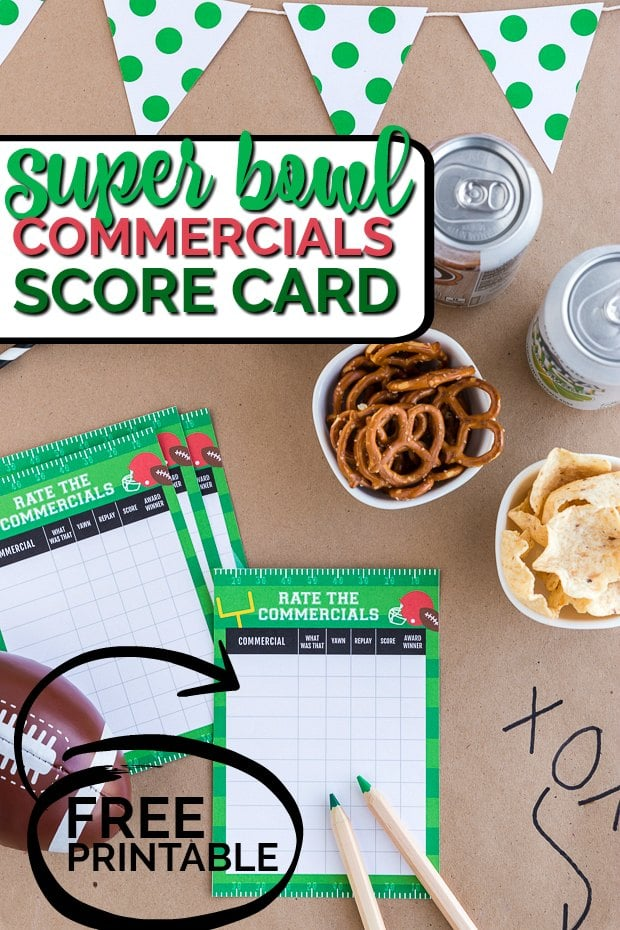100+ Free Super Bowl Party Printables - Spaceships and Laser