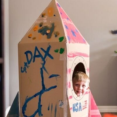 Cardboard Box Spaceship How To